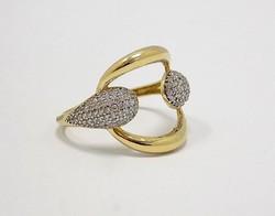 Köves arany gyűrű (ZAL-Au72349)