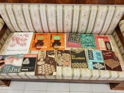 Szabás, varrás, hímzés, horgolás, kötés és szabásminták könyv gyűjtemény egyben