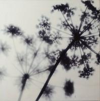 Ikea Pjatteryd , vászon kép, ékrámára feszítve. 35x35 cm