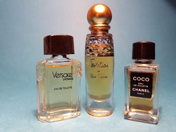 Gyűjtői Mini parfüm válogatás 3 db