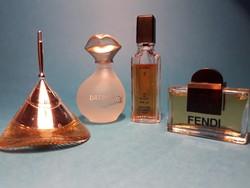 Gyűjtői Mini parfüm válogatás 4 db