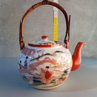 Japán stílusú Kínai porcelán teáskanna (359)