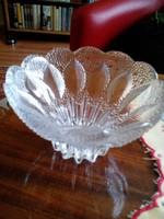 Üveg tető nélküli bonbonier v. cukorka tartó