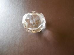 3 D lézer gravírozott kristálydísz