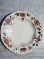 Zsolnay antik mély tányér 25cm