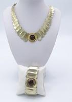 Martha May kollekció /Perli  luxus ezüst:füstkvarc-kő: