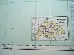 Régi Ausztrália és Polinézia térkép