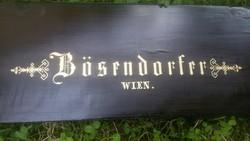 2 db. Bösendorfer klaviatúra fedél.