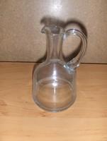 Antik üveg ecet tartó kancsó kiöntő (19/d)