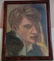 Fiatalember portréja