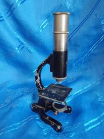 Régi angol kisméretű mikroszkóp,