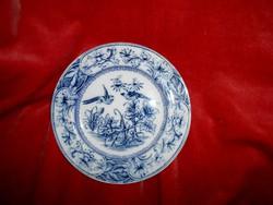 Cauldon antik madaras tányér- angol   porcelán