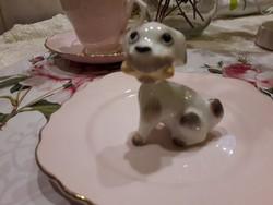 Porcelán kutyus