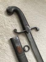 Horthy vitézi kard, 1904M lovassági kard pengével szerelve, Pacholek György Budapest beütővel