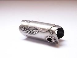 Bécsi ezüst,pajzsos,díszes sétabotgyűrű,hibátlan!