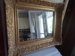 Tükör impressionista keretben