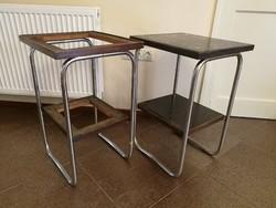 Bauhaus lerakó asztal pár