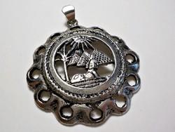 Egyiptomi fém medál
