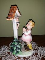Imperial  Wienna , imádkozó kislány  szobor