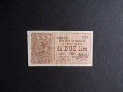 Olaszország - 2 lire 1914
