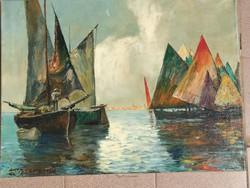Csodálatos eredeti olaj festmény
