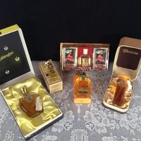 5 db Retro parfüm dobozában