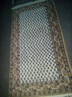 Szőnyeg, indiai gyapjú 140x75cm