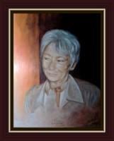 Csernus Mariann színésznő portréja, Károlyfi Zsófia alkotása, most akciósan megvásárolható.
