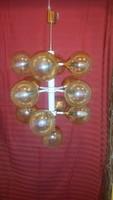 Szarvasi retro design nagy csillár 13 üvegbúrával