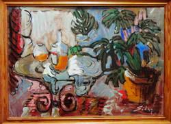 Séday Éva  klasszikus: Asztali csendélet