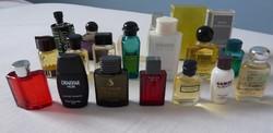 20 darabos márkás férfi mini vintage parfüm, eau de toilette gyűjtemény