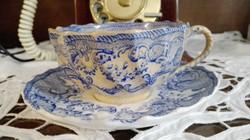 Spode Coopland blue rose 1890 england  teás szett