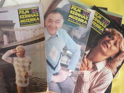 FILM SZINHÁZ MUZSIKA 1982- teljes évfolyam