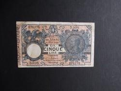 Olaszország - 5 lire 1904