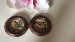 Madaras miniatűr gobelinek