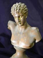 Íróasztalkészlet Apollón bronz art deco stílusú