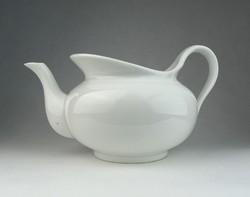 0R366 Porcelán fehér teás kancsó kanna