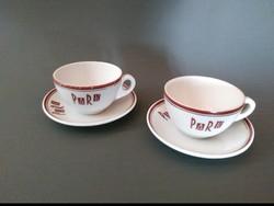 Zsolnay Park kávés csészék