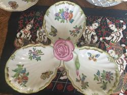 Herendi viktória VBO gyönyörü rózsafogós hármas kínáló
