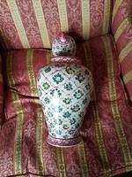 Fischer Emil kézzel festett váza 40 cm