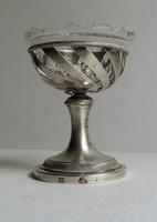 Antik ezüst sótartó. Csehország / Olomouc  1833.