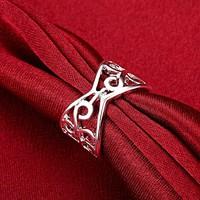 925-s sterling ezüst filled, állítható filigrán gyűrű