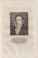 Acélmetszet: Gay Lussac  (1800-as évek)
