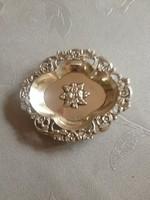 Hibátlan svéd ezüst gyűrűtartó tálka