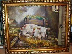 Korai Gyarmathy Tihamér 80 x 60 cm olaj-vászon 30-as évek