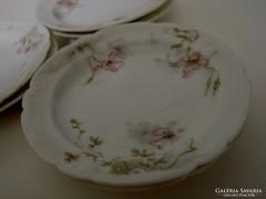 Limoges Theodore Haviland  francia porcelán kekszes 6 db