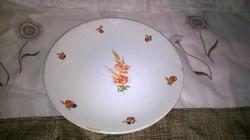 Gránit pipacsos 24,5 cm antik tányér