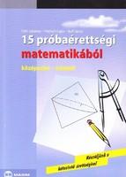 15 próbaérettségi matematikából (középszint-írásbeli) 400 Ft
