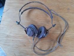 Detektoros rádió fejhallgató