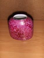 Hollóházi porcelán márványos váza (20/d)